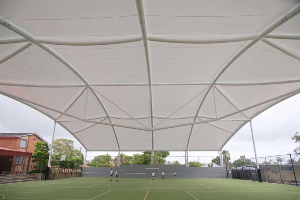 School sports shade
