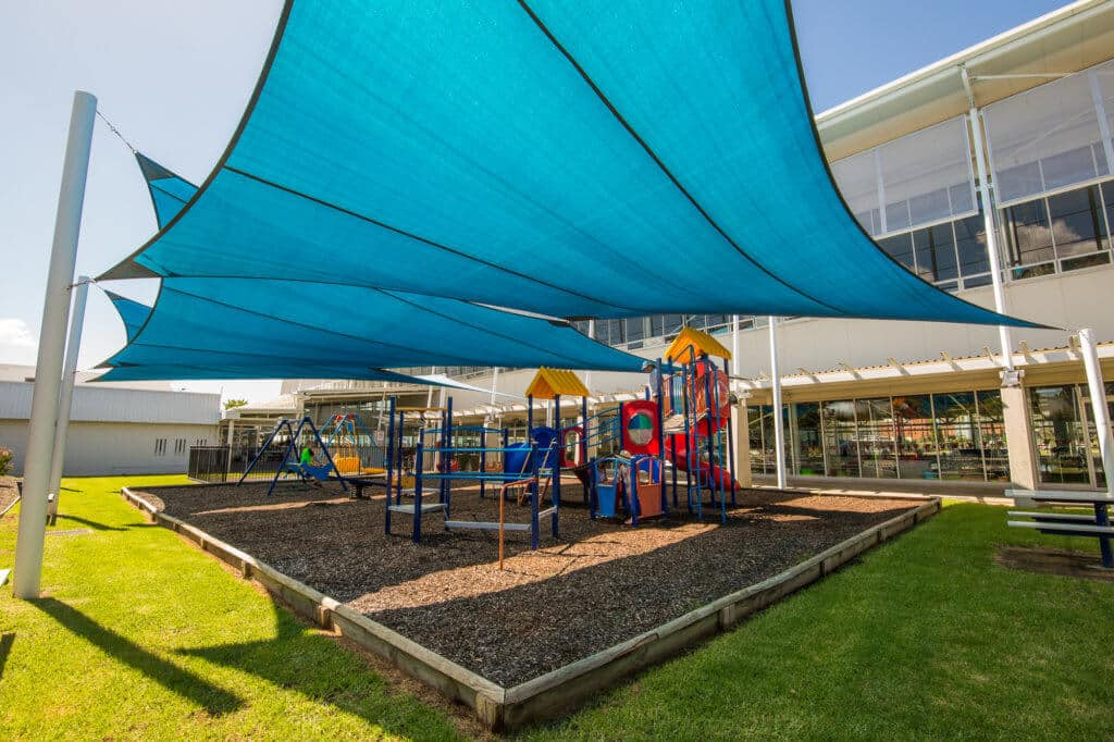 Oasis Swimming Pool playground shade